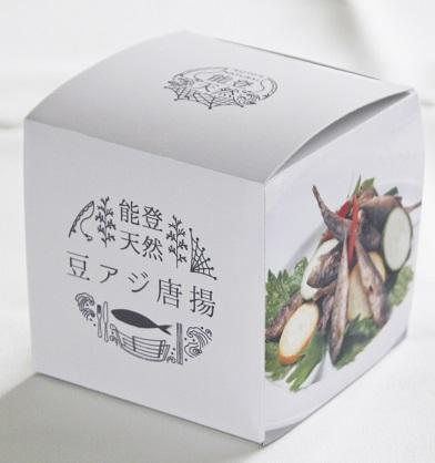 豆アジ唐揚-外箱